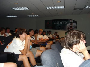 2011 Miami Hurricanes Kicking Camp