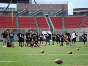 2011 N.C. State Wolfpack Kicking Camp