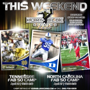 Fab 50 Spring 2014 Raleigh & Nashville Camps